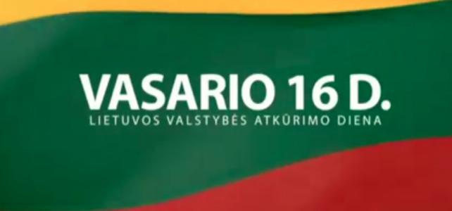Die Litauische Gemeinschaft München feiert 100 Jahre Unabhängigkeit Litauens
